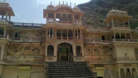 Mehandipur Balaji Temple Sundowners trek - Umaid Lake Palace Hotel Kalakho Dausa Rajasthan