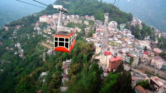 Gangtok Ropeway Central Hotel Resort Darjeeling Gangtok Central Hotels