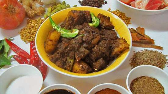 Pandi Curry Kodava Dish - Yummy Goan Dishes You Must Try