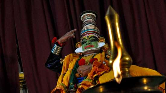 The Tower House - 17th C, Cochin Kochin Kathakali dancing theatre