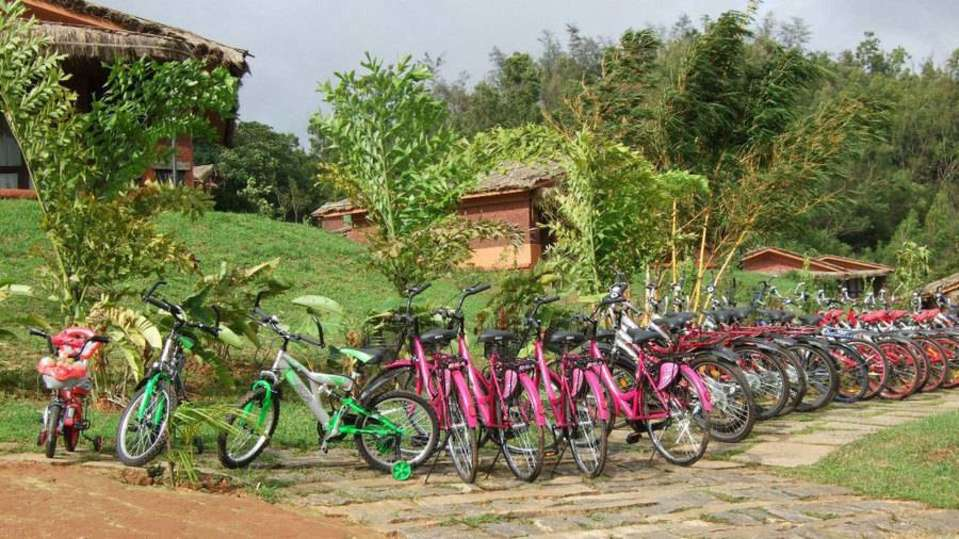 Cycling at Hotel Heritage Resort Coorg Madikeri