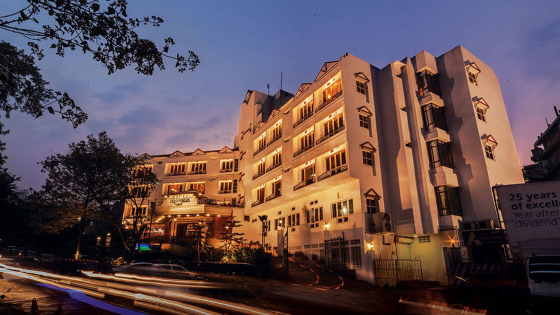 Exterior view of our hotel in Shillong  Hotel Polo Towers  Shillong- 23