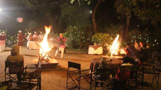Folk Dance at The River View Retreat - Corbett Resort Corbett