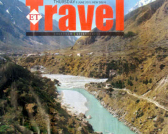 Economic-Times-ET-Travels chamdham camps - The Chardham Camps Uttarkashi