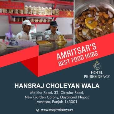 Hansraj Chole -Amritsar Food Places -Amritsar