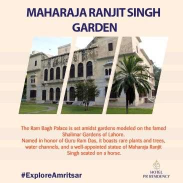 Maharaja Ranjit Singh Garden-Amritsar-