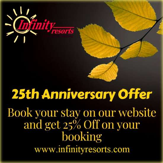 25th Anniversary offer at Infinity Resorts2