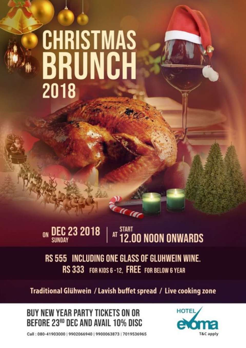 christmas-brunch-evoma-bangalore-hotel