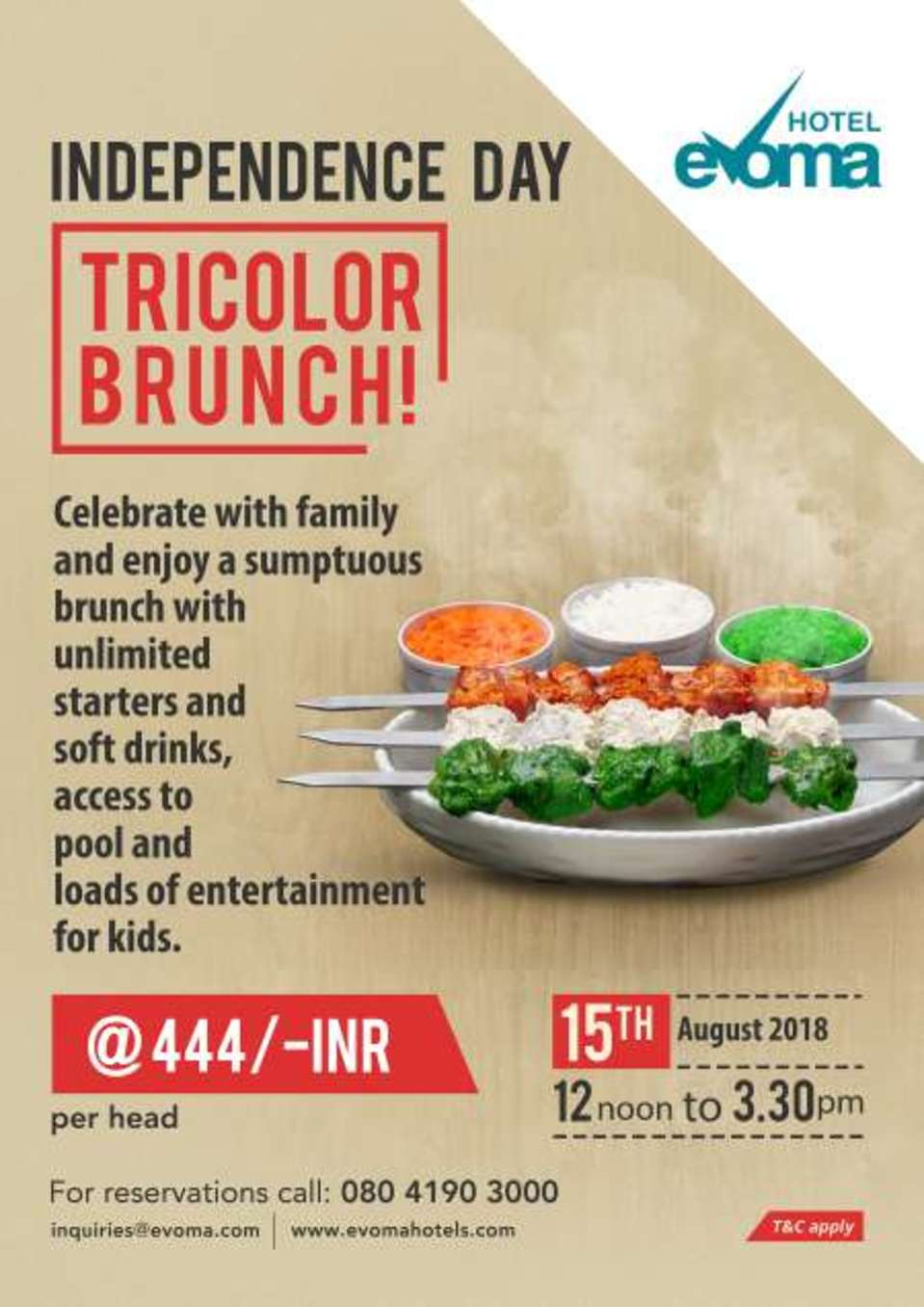 independence-day-brunch-evoma-bangalore