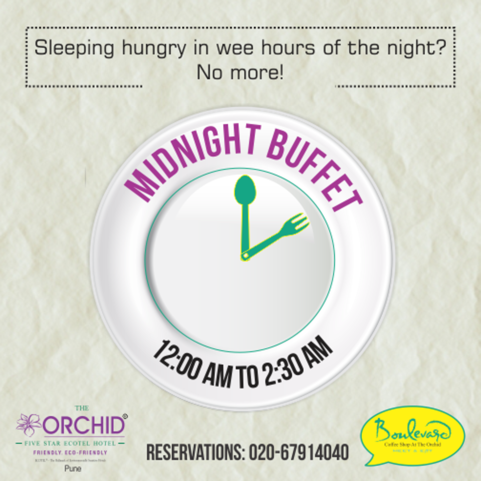 The Orchid Hotel, Pune Pune Midnight