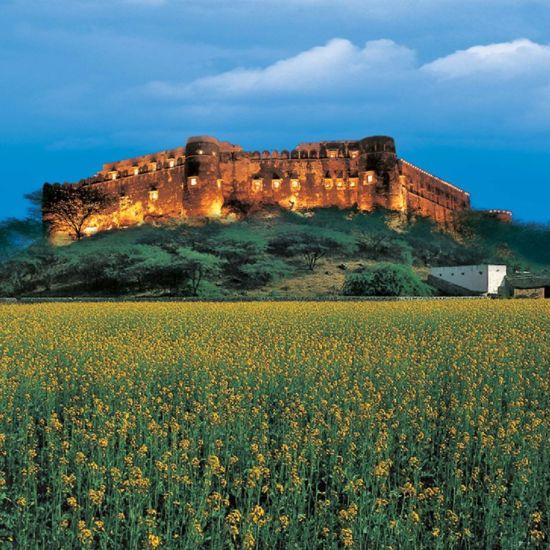 Alwar Resorts  Premises of Hotel Hill Fort Kesroli  Alwar  Rajasthan