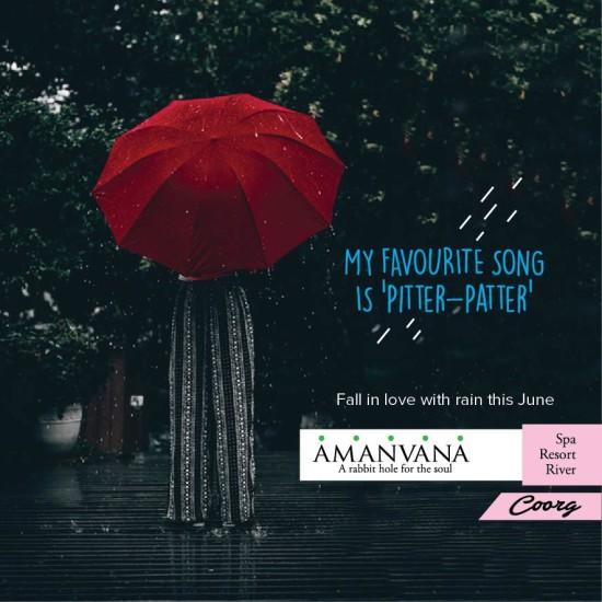 Monsoon at Amanvana Spa Resort- Best Coorg Resorts