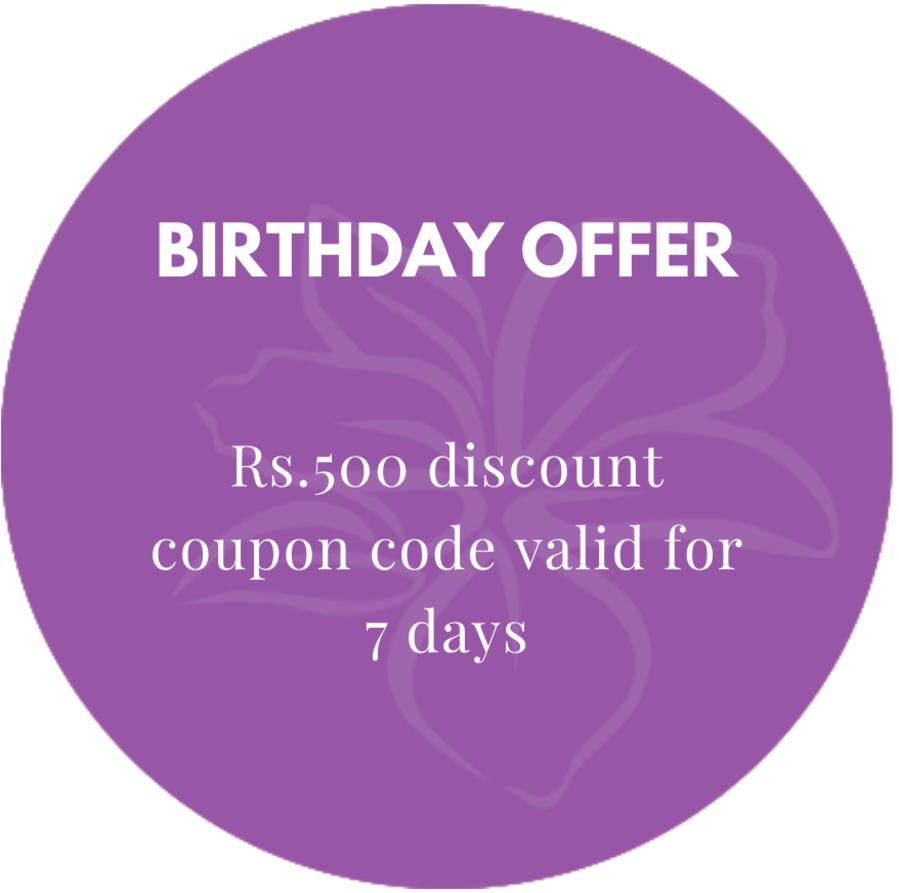 birthday offer Orchid Rewards