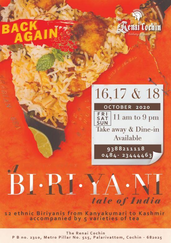 Back again -A Biriyani Tale of India