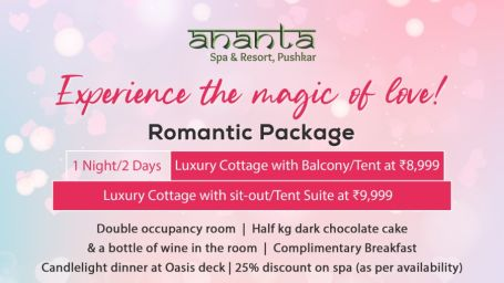 Pushkar Romantic pkg 01 Night