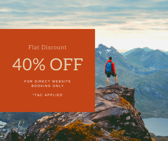 40% off on direct website booking only at Summit Hotels