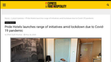 Express Food and Hospitality 18.5.2020