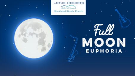 Fullmoon at Lotus Eco Beach Resort Konark