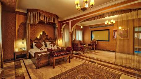 Traditional Heritage Haveli Hotel, Jaipur Jaipur golden suite Traditional Heritage Haveli Hotel Jaipur 1