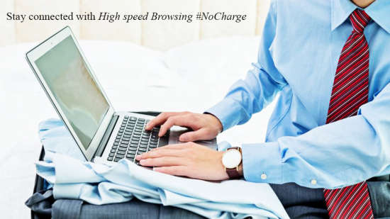 High Speed Internet at Evoke Hotels