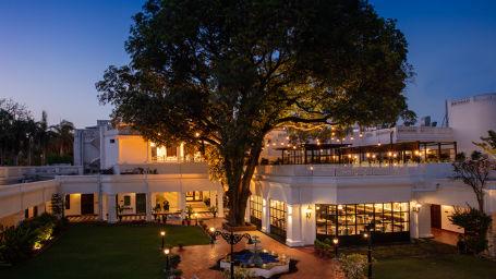 Jehan Numa Palace Under The Mango Tree Restaurant Indian Barbeque