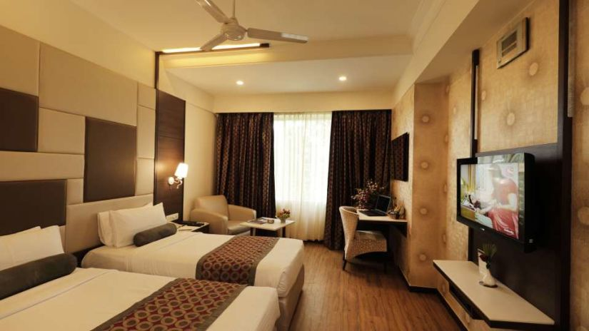 Comfort Twin Bed Room Pai Vista Mysore