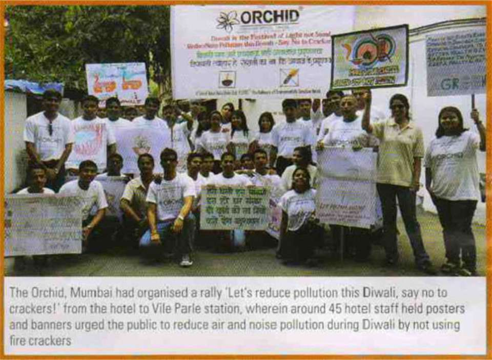 News & Media at The Orchid Hotel Mumbai Mumbai
