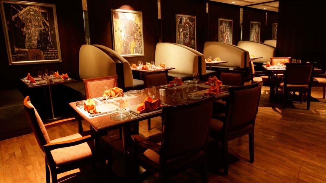 caraway restaurant, The Grand New Delhi, restaurants is Delhi