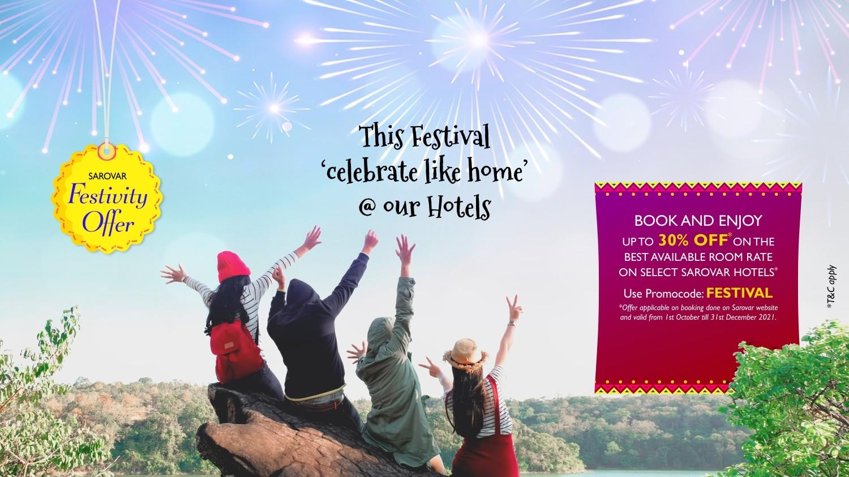 Sarovar Festivity-offer Oct-2021 Website Banner