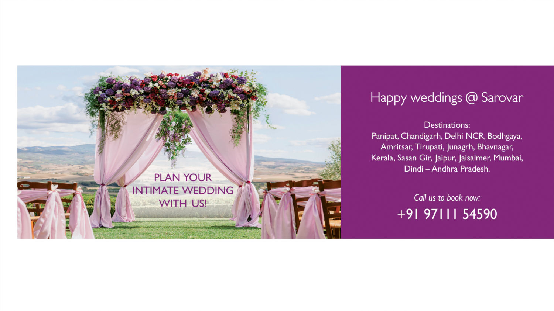 Web banner - Wedding