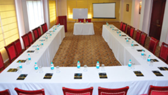 Conference Room at Le Roi Corbett Resort and Hotel in Jim Corbett National Park