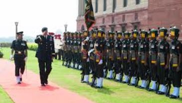 Le ROI Hotels & Resorts  Guard Changing Ceremony Delhi