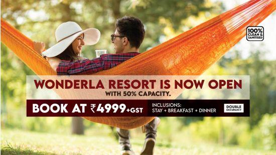 Wonderla Resort reopening offer