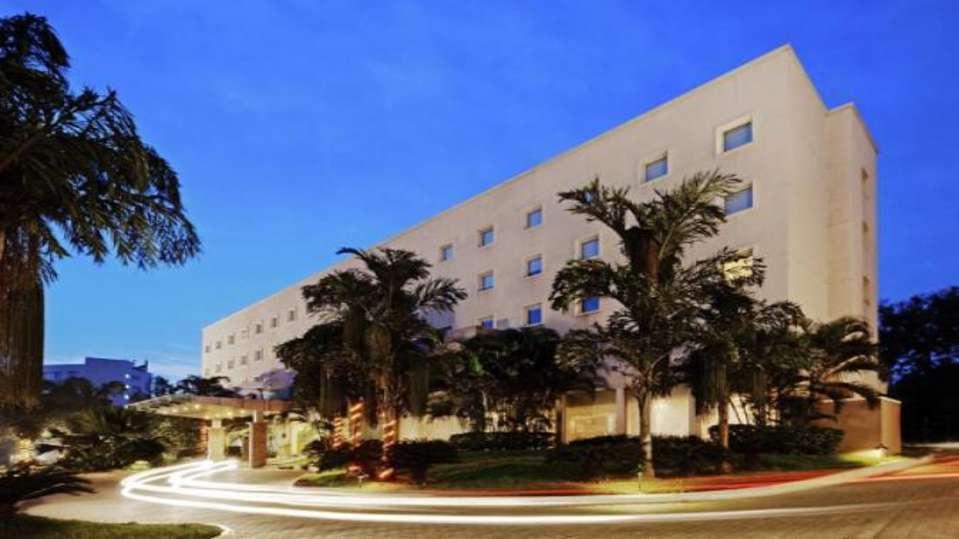 Facade at Radha Hometel Bangalore, Budget Hotels in bangalore 4