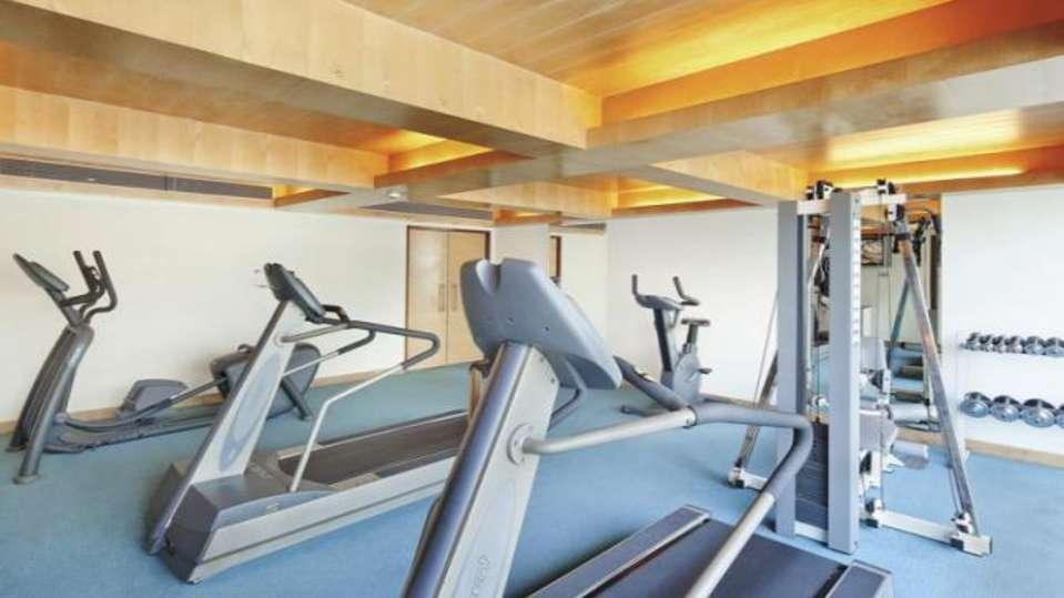 Gym at Radha Hometel Bangalore, Hotels in bangalore 3