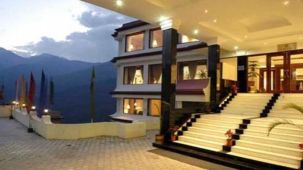 Facade at The Royal Plaza Gangtok, best hotels in gangtok