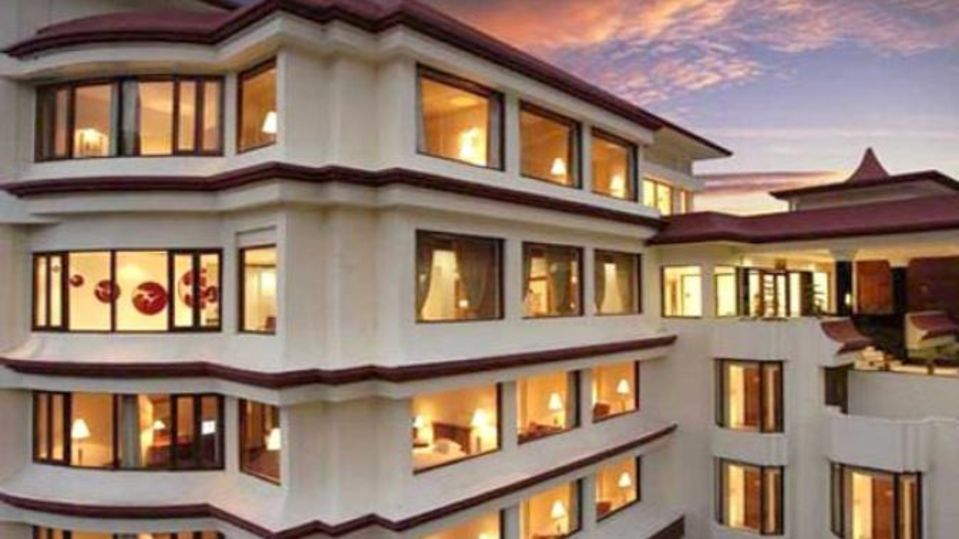 Facade2 at The Royal Plaza Gangtok, best gangtok hotels