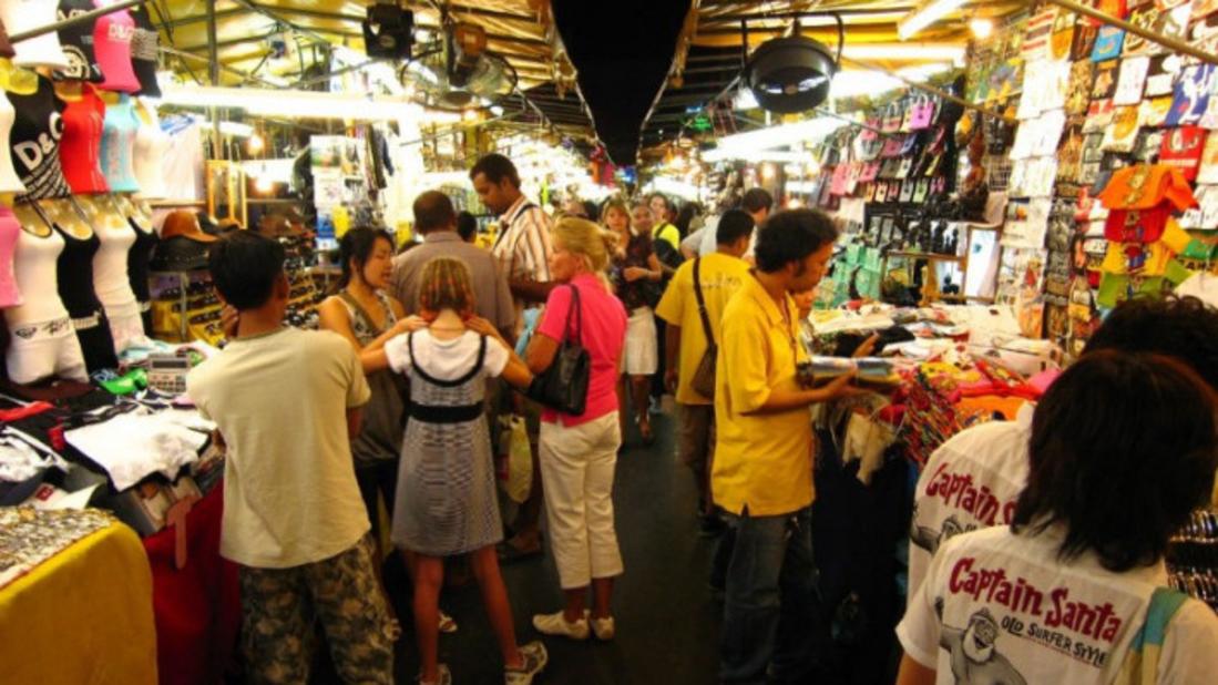 Silom Night Market.