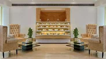 Coffee Lounge Taurus Sarovar Portico IGI Delhi nkeecd