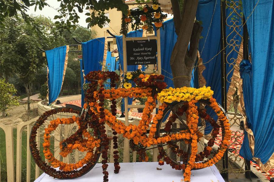 alt-text Weddings in Bharatpur, Pride Kadamb Kunj Resort