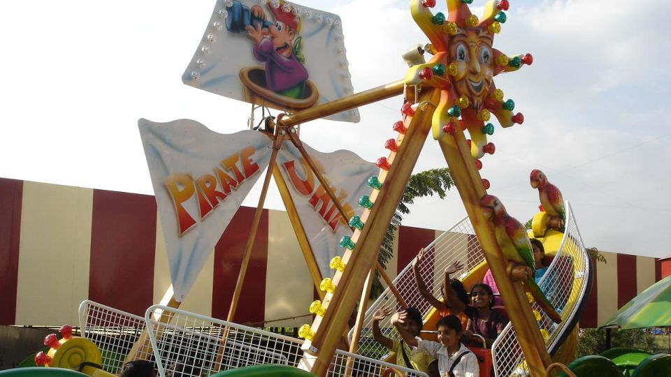 Kids Rides - Mini Pirate at  Wonderla Amusement Park Bengaluru