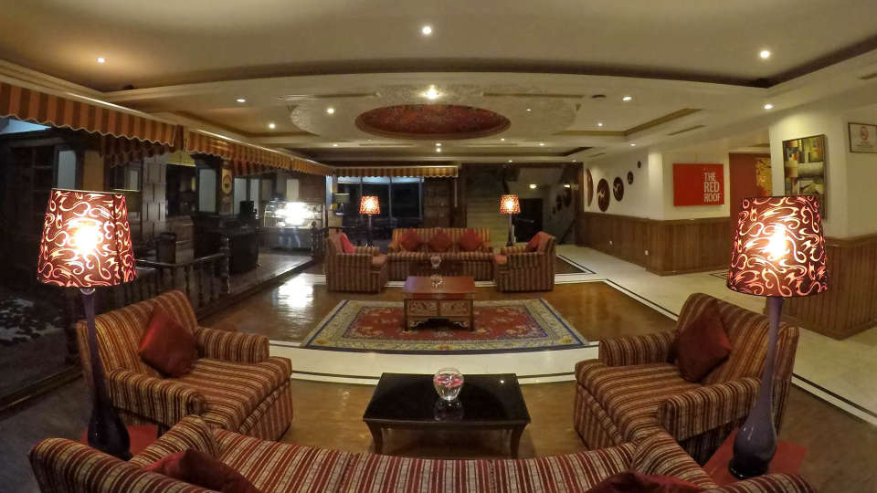 Lobby at The Royal Plaza Gangtok, best hotels in gangtok 6