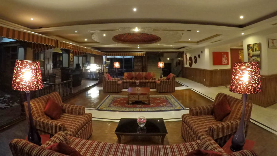 Lobby at The Royal Plaza Gangtok, best hotels in gangtok 6