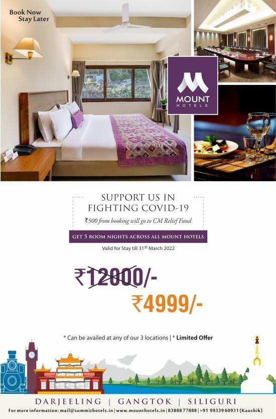 Mount - corona offer