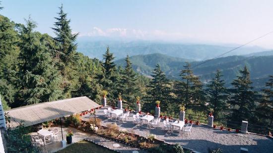 Sun n snow, garden,  hotels in kausani, Uttarakhand hotels, kausani hotels