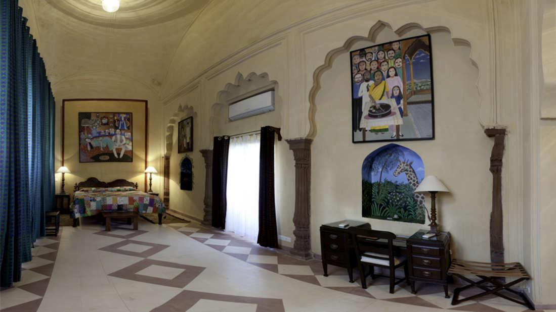 The Nayna Mahal_Tijara Fort Palace_ Hotel Rooms in Rajasthan_Rooms Near Jaipur