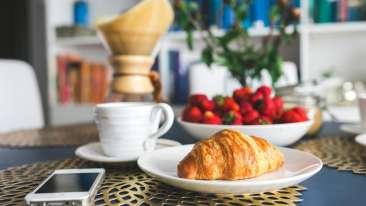 Breakfast Le Dupliex Pondicherry