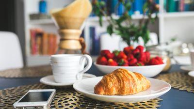 Breakfast at Hotel Le Dupliex Pondicherry