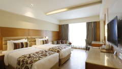 hotel rooms in Jhansi, Superior Rooms in Jhansi with Twin Bed at Natraj Sarovar Portico Jhansi  1