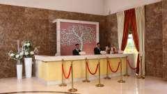 Reception at Nidhivan Sarovar Portico Vrindavan, mathura hotels